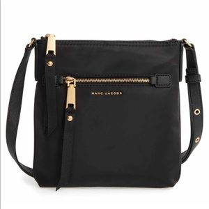 NWT Marc Jacobs Nylon Crossbody in Black